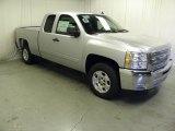 2012 Silver Ice Metallic Chevrolet Silverado 1500 LT Extended Cab #59242995