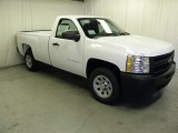 2012 Summit White Chevrolet Silverado 1500 Work Truck Regular Cab #59242993