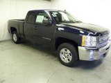 2012 Imperial Blue Metallic Chevrolet Silverado 1500 LT Extended Cab #59242991