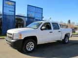 2012 Summit White Chevrolet Silverado 1500 Work Truck Crew Cab 4x4 #59242579
