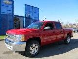 2012 Victory Red Chevrolet Silverado 1500 LT Crew Cab 4x4 #59242577