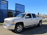 2012 Summit White Chevrolet Silverado 1500 LT Crew Cab 4x4 #59242576