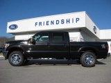 2012 Tuxedo Black Metallic Ford F250 Super Duty Lariat Crew Cab 4x4 #59242544
