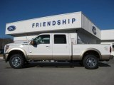 2012 Oxford White Ford F250 Super Duty King Ranch Crew Cab 4x4 #59242543