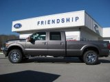 2012 Sterling Grey Metallic Ford F250 Super Duty Lariat Crew Cab 4x4 #59242542