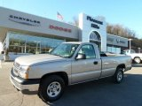 2004 Silver Birch Metallic Chevrolet Silverado 1500 Regular Cab 4x4 #59242910