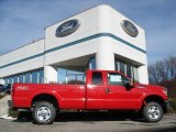 2012 Vermillion Red Ford F350 Super Duty XLT SuperCab 4x4 #59242464