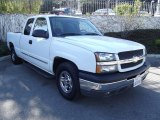 2004 Summit White Chevrolet Silverado 1500 LS Extended Cab #59242416