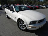 2007 Performance White Ford Mustang V6 Premium Convertible #59242839