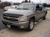 2007 Graystone Metallic Chevrolet Silverado 1500 LTZ Crew Cab 4x4 #59242365