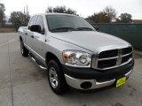 2008 Bright Silver Metallic Dodge Ram 1500 SXT Quad Cab 4x4 #59242766
