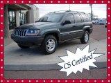 2002 Onyx Green Pearlcoat Jeep Grand Cherokee Laredo 4x4 #59242746
