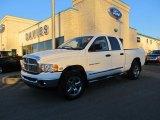 2005 Bright White Dodge Ram 1500 Laramie Quad Cab 4x4 #59242726