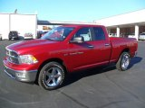 2012 Deep Cherry Red Crystal Pearl Dodge Ram 1500 Big Horn Quad Cab #59243102