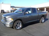 2012 Mineral Gray Metallic Dodge Ram 1500 SLT Quad Cab 4x4 #59243100