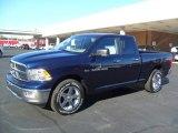 2012 True Blue Pearl Dodge Ram 1500 Big Horn Quad Cab #59243099
