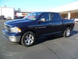 2012 True Blue Pearl Dodge Ram 1500 Big Horn Crew Cab 4x4 #59243097