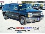 2003 Dark Green Metallic Chevrolet Silverado 1500 LS Crew Cab 4x4 #59319769
