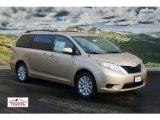 2012 Sandy Beach Metallic Toyota Sienna LE AWD #59319484
