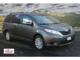 2012 Cypress Green Pearl Toyota Sienna LE AWD #59319482
