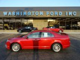 2010 Sangria Red Metallic Ford Fusion SEL V6 AWD #59319737