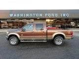 2012 Golden Bronze Metallic Ford F250 Super Duty Lariat Crew Cab 4x4 #59319733