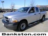 2010 Bright Silver Metallic Dodge Ram 1500 ST Quad Cab #59319463