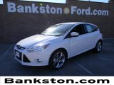 2012 Oxford White Ford Focus SEL 5-Door #59319438