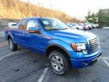 2011 Blue Flame Metallic Ford F150 FX4 SuperCab 4x4 #59319693