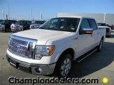 2011 White Platinum Metallic Tri-Coat Ford F150 Lariat SuperCrew #59359950
