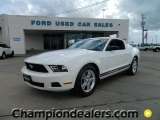 2011 Performance White Ford Mustang V6 Coupe #59359983
