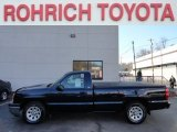2005 Dark Blue Metallic Chevrolet Silverado 1500 LS Regular Cab #59376005