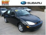 2003 Pitch Black Ford Focus SE Sedan #59375591