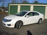 2010 White Platinum Tri-coat Metallic Ford Fusion SEL #59375568
