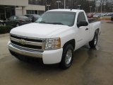2008 Summit White Chevrolet Silverado 1500 LS Regular Cab #59375776
