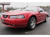 2000 Laser Red Metallic Ford Mustang GT Convertible #59375945