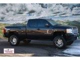 2009 Black Chevrolet Silverado 1500 LS Extended Cab 4x4 #59375526