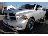 2010 Bright Silver Metallic Dodge Ram 1500 Sport Crew Cab 4x4 #59375904