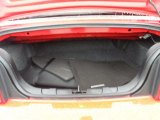 2006 Ford Mustang V6 Premium Convertible Trunk