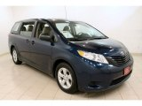 2011 South Pacific Blue Pearl Toyota Sienna V6 #59375880