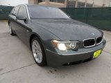 2003 Titanium Grey Metallic BMW 7 Series 745Li Sedan #59375688