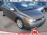 2006 Galaxy Gray Metallic Honda Civic LX Coupe #59375313