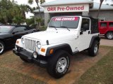 2006 Stone White Jeep Wrangler Sport 4x4 #59416308
