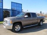 2012 Mocha Steel Metallic Chevrolet Silverado 1500 LT Crew Cab 4x4 #59415554