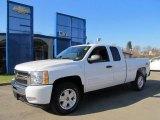 2011 Summit White Chevrolet Silverado 1500 LT Extended Cab 4x4 #59415553