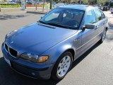 2003 Steel Blue Metallic BMW 3 Series 325i Sedan #59415529