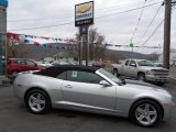 2012 Silver Ice Metallic Chevrolet Camaro LT Convertible #59415511