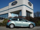 2012 Frosted Glass Metallic Ford Focus SE Sedan #59415492