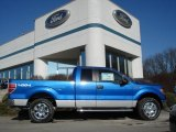 2012 Blue Flame Metallic Ford F150 XLT SuperCab 4x4 #59415490