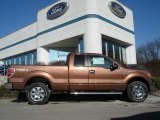 2012 Golden Bronze Metallic Ford F150 XLT SuperCab 4x4 #59415489